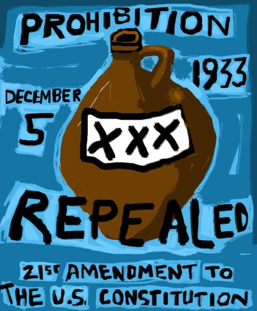prohibition repealed